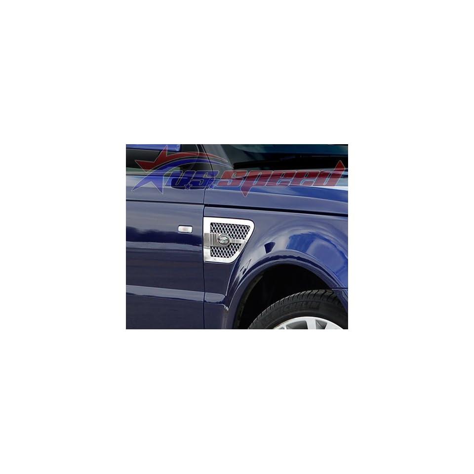 2010 UP Range Rover Sport Chrome Fender Vent Grilles 2PC