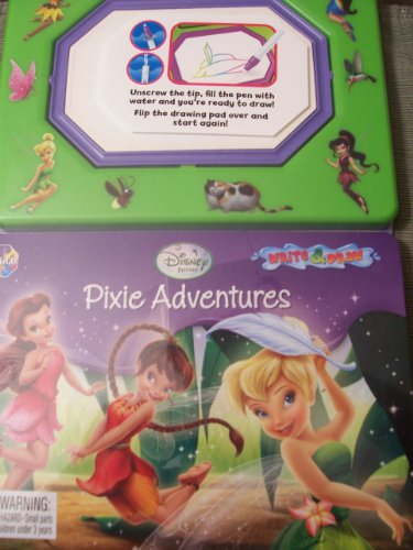 Disney Fairies ~ Pixie Adventures (Write & Draw) - 1