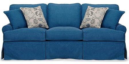 Horizon Sofa - Slip Cover Set Only - Indigo Blue