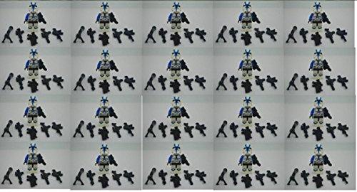 Minifigures 20 x Blue Clone Trooper