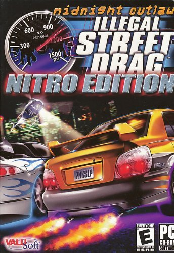 Midnight Outlaw Illegal Street Drag Nitro (Jewel Case)