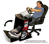 Xtension Simulation and Racing Wheel Stand (Red Graphics)