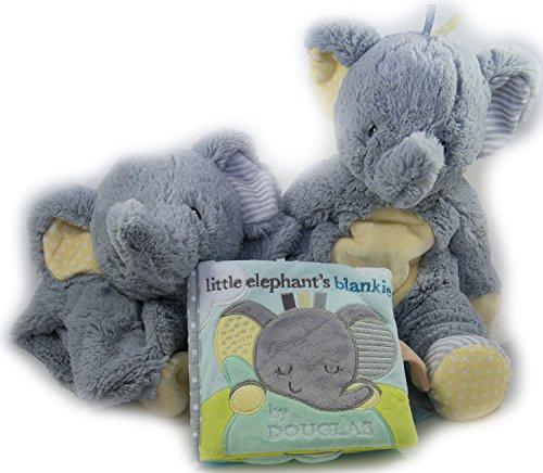 Best-Baby-Gift-Bundle-of-3-Pc-Set-Elephant-Plumpies-Little-Elephants-Blankie-Soft-Book-Elephant-Sshlumpie-Baby-Shower