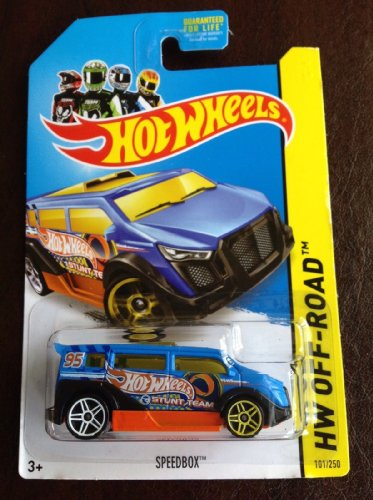2014 Hot Wheels SpeedBox Treasure Hunt 101/250 Hw Off-Road - 1