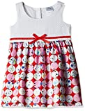 Doodle Baby Girls' Dress (FDSWN3036BB_Red_12-18 Months)