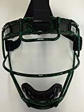 Adult Custom Schutt Green Snakeskin Infielder Face Guard