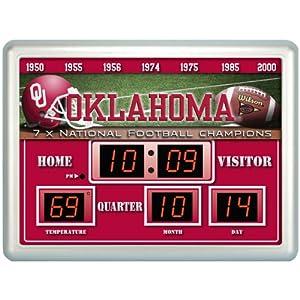 Oklahoma Sooners Scoreboard by Team Sports America