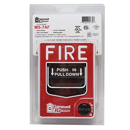 fci gamewell honeywell ms 7af fire alarm dual action manual pull station dealtrend. Black Bedroom Furniture Sets. Home Design Ideas