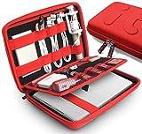 Portable EVA Tablet Case / Electronics Accessories Case / Ipad Air Case/anti-shock Hard Drive Case / Travel Cable Organizer/power Bank Case/usb Pouch(XL)