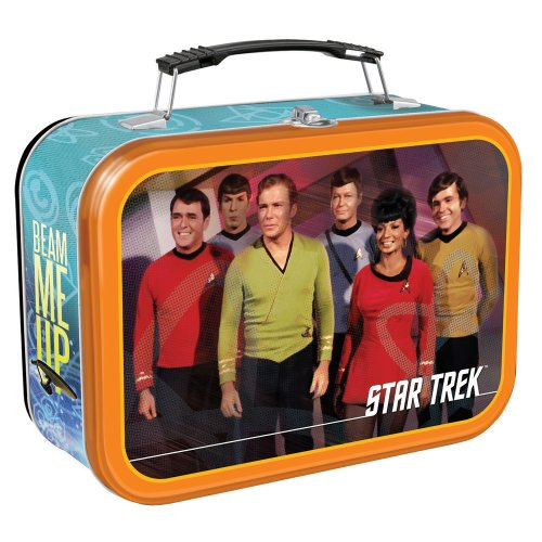 Vandor 80070 Star Trek Large Tin Tote, Multicolored