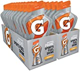 Gatorade Prime Sports Fuel Drink, Orange, 4 Ounce Pouches, 20 Pack