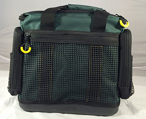 Fishing tackle bag advanced anglers tm with utility boxes for Cabelas fishing backpack