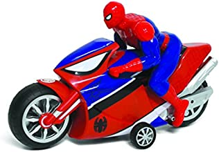 Marvel Spider Man Friction Motorcycle, Red