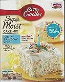 Betty Crocker SuperMoist Party Rainbow Chip Cake Mix (2 pack)
