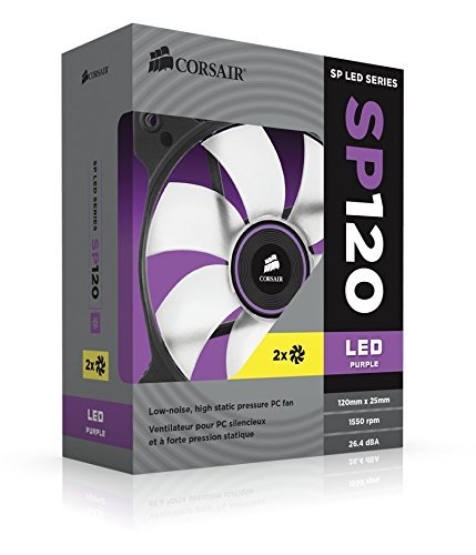 Corsair The Air Series SP 120 LED High Static Pressure Fan CO-9050030-WW