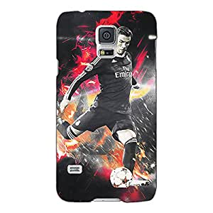 Jugaaduu Cristiano Ronaldo Portugal Back Cover Case For Samsung Galaxy S5