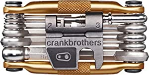 Crank Brothers Multi-17 Tool  Bike tools & maintainance - Gold, Each