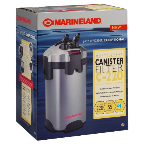 Marineland PC-ml220 Multi-stage Canister Filter-