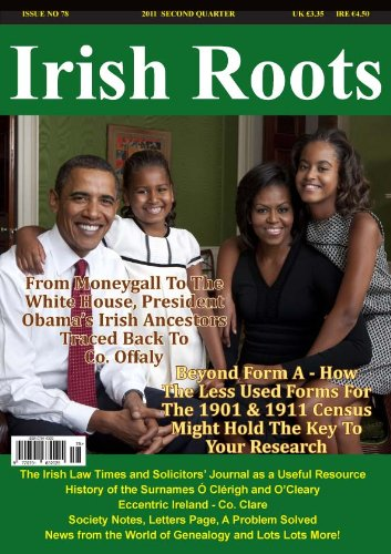 Irish Roots Magazine - Second Quarter 2011