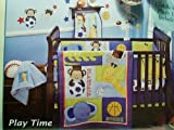 Play Time Sports Safari Crib Bedding