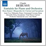 Debussy:Fantaisie For Piano And Orchestra (Naxos: 8