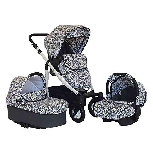 Kombikinderwagen-Kinderwagen-Buggy-Sportwagen-Babyschale-weies-Gestell-Luftreifen-Onyx-3in1-anthrazit-schneeleopard-16