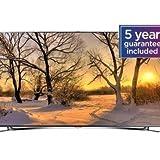Samsung UE65F8000 165cm (65 Zoll) 3D LED-Backlight-Fernseher (Full HD, 1000Hz CMR, DVB-T/C/S2, CI+, Smart TV, HbbTV, Sprachsteuerung) schwarz