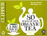 Clipper Organic Everyday Tea 80 Tea Bags 250g- CLIP-4549
