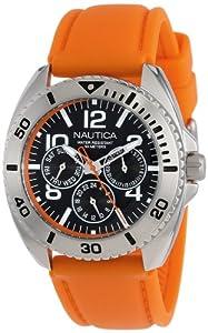 Nautica Men's N11606G Sport Ring Box Set Classic Analog Multi-Function Watch