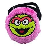 Small Plush Oscar the Grouch Purse - Pink Oscar the Grouch Cosmetic Bag ~ PBS