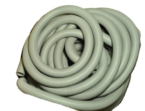 "Vacuum Cleaner Hose, 1 1/2"" Diameter, 50 Feet Long Molded Crushproof Hose"