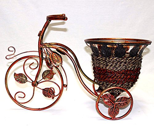 link-products-metal-bicycle-planter-with-rattan-wire-basket-45-cm-wide-x-38-cm-tall