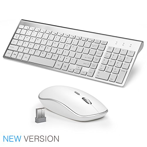 top 5 best wireless keyboard quiet full size for sale 2016 product boomsbeat. Black Bedroom Furniture Sets. Home Design Ideas