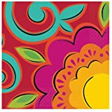 Caliente Flowers Lunch Napkins