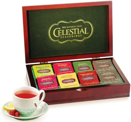 51pk3VQS2zL # Celestial Seasonings Wooden Chest with Tea, 64 Count Big Discount