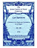 img - for Flute Concerto, Op. 283 by Carl Reinecke. Piano with Flute Score and Flute Part book / textbook / text book