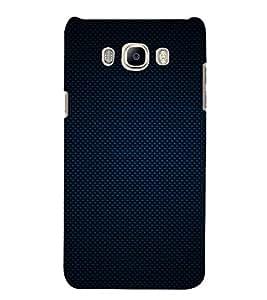 Blue Pattern 3D Hard Polycarbonate Designer Back Case Cover for Samsung Galaxy J7 (6) 2016 Edition :: Samsung Galaxy J7 (2016) Duos :: Samsung Galaxy J7 2016 J710F J710FN J710M J710H