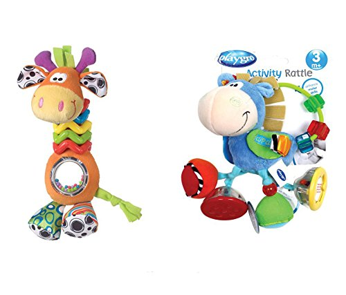 Save Set My First Bead Buddy Giraffe, Clip Clop Activity Baby Rattle (My Lil Pony Table compare prices)