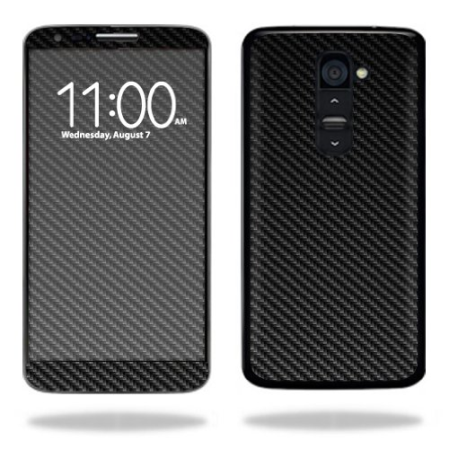 Mightyskins Protective Vinyl Skin Decal Cover for LG G2 T-Mobile wrap sticker skins Carbon Fiber (Lgg2 Carbon Fiber compare prices)