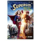 Supergirl (TV Series 2015 - ) 8 Inch x10 Inch Photo Supergirl & Flash on Comic Book Cover kn