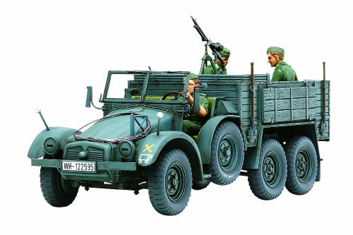 Tamiya 300035317 Model Vehicle 1:35 WWII Krupp Protze (3) Personnel Carrier (Tamiya 1 35 Military compare prices)