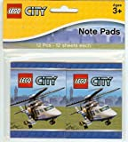 LEGO City: 12 x 12 Note Pads
