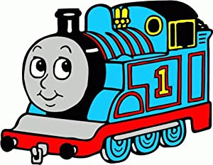 Amazon.com: Thomas The Tank Engine Cartoon Car Bumper Sticker Decal 5