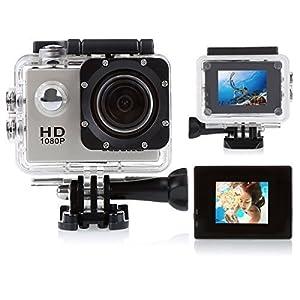 CCbetter ® Sports Action Camera CS710 12mp 1080p 120 Degree Waterproof Diving Video DVR (Grey)