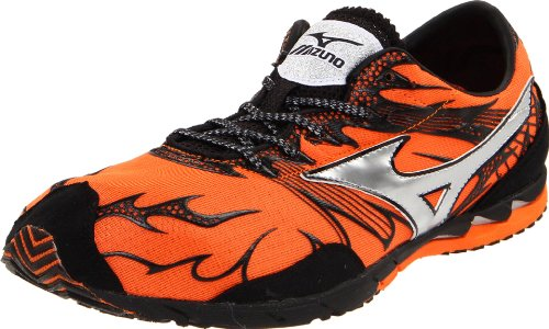 Mizuno Unisex Wave Universe 4 Running Shoe,Vibrant Orange/Anthracite,US Women's 12.5/US Men's 11 M
