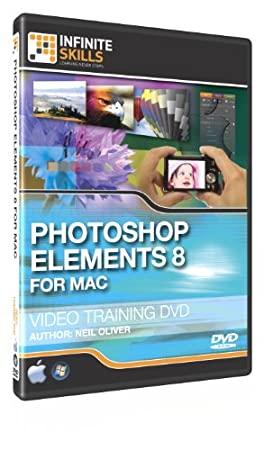 Photoshop Elements 8 (MAC) Training Video - Tutorial DVD