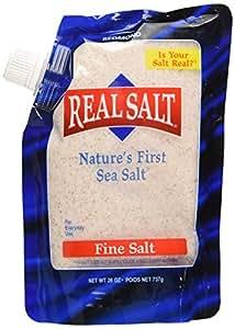 Real Salt Sea Salt - Pouch, 26-Ounce