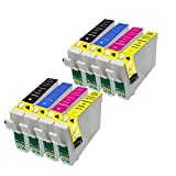 8 Ink Cartridges Replace 79XL for Epson WorkForce Pro WF-4630DWF WF-4640DTWF WF-5110DW WF-5190DW WF-5620DWF WF-5690DWF