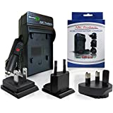 Battery Charger BC-10L BC-11L NP-20 NP20 for Casio Exilim EX-M1, EX-M2, EX-M20, EX-S1, EX-S2, EX-S3, EX-S20, EX-S100, EX-S500, EX-S600, EX-S770, EX-S880, EX-Z3, EX-Z4, EX-Z5, EX-Z6, EX-Z7, EX-Z8, EX-Z11, EX-Z12, EX-Z15, EX-Z18, EX-Z60, EX-Z65, EX-Z70, EX-Z75, EX-Z77 Digital Camera
