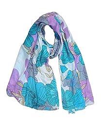 Lotsa Fashion Women's Viscose Scarf (LF70180VC7054_1_Multi-Colored_Freezise)